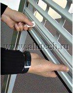 Пружинно-инерционный механизм для роллет