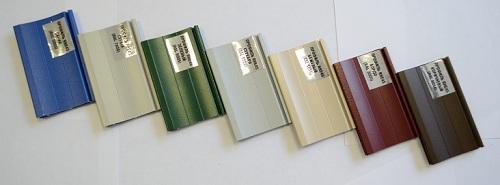 Рольставни - цветовая палитра 1